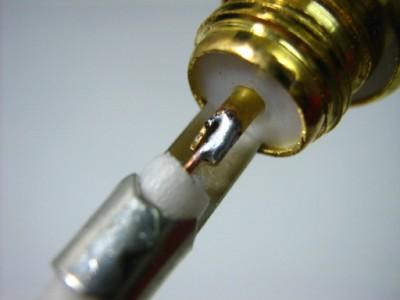 BNC soldered wire