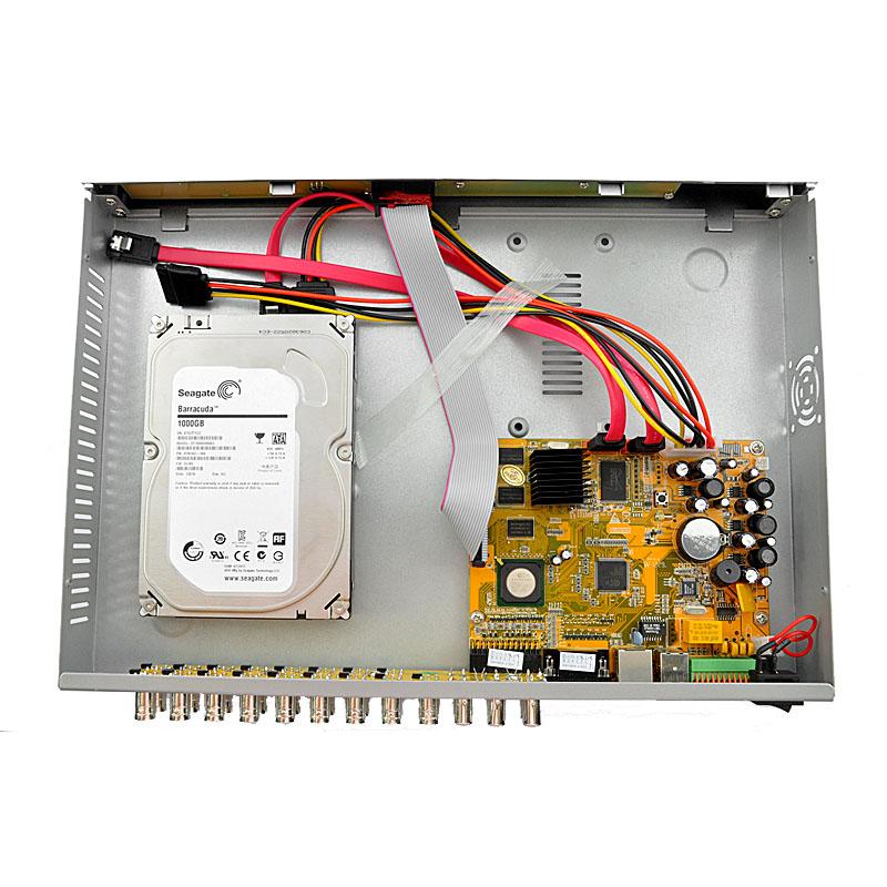 DVR HDD Install